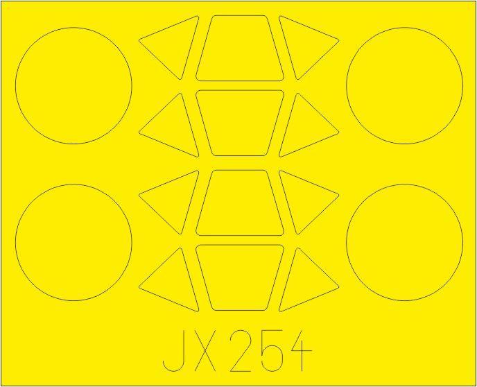Eduard-JX-254-PT-17-Kaydet-Masken Eduard Zurüstsets für die PT-17 von Roden in 1:32
