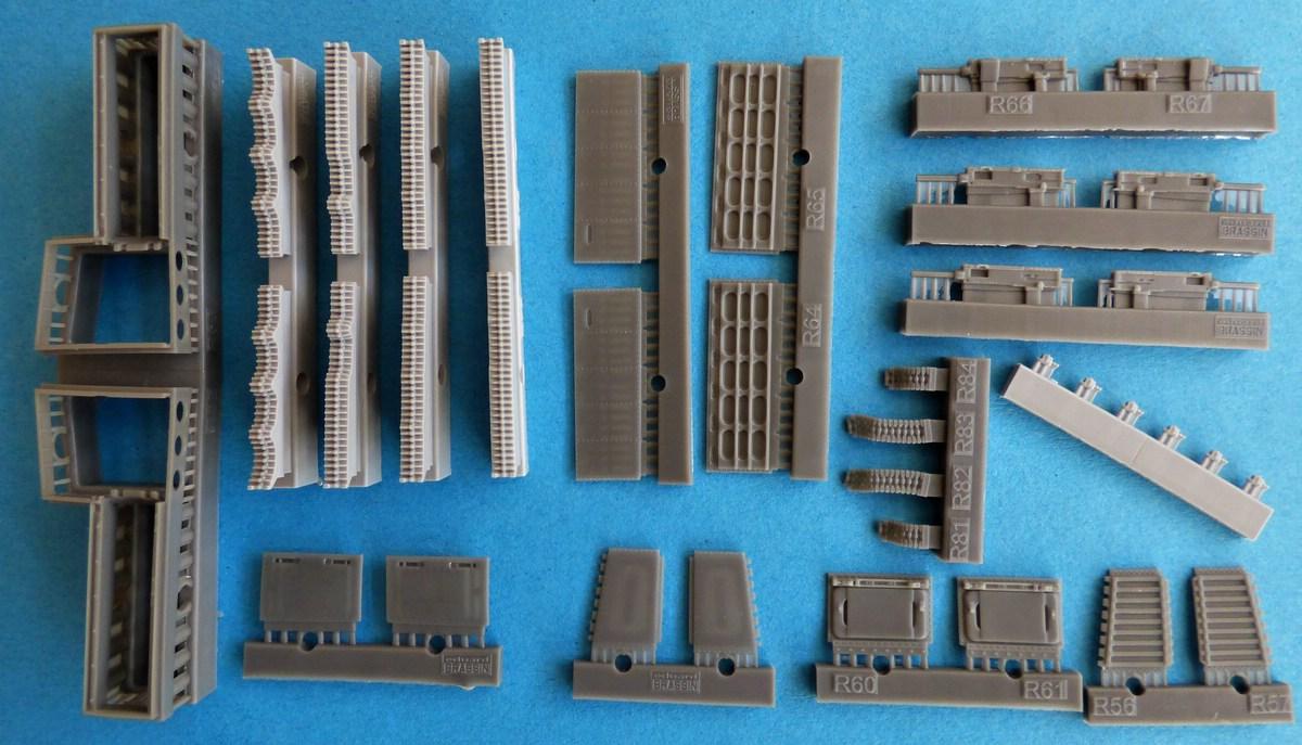 Eduard-SIN-64846-Mustang-Airfix-36 Eduard Bewaffnung und Tanks für die Airfix P-51 Mustang in 1:48 #SIN 64846