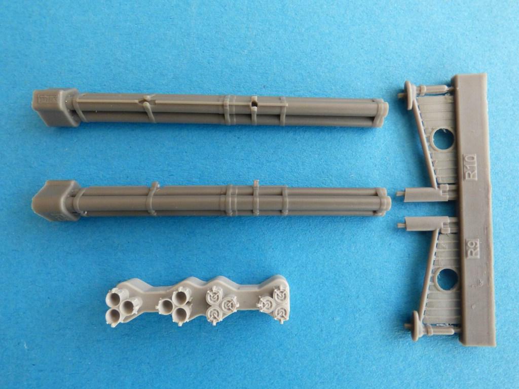 Eduard-SIN-64846-Mustang-Airfix-5 Eduard Bewaffnung und Tanks für die Airfix P-51 Mustang in 1:48 #SIN 64846