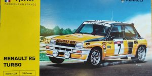 Renault R5 Turbo in 1:24 von Heller #80717
