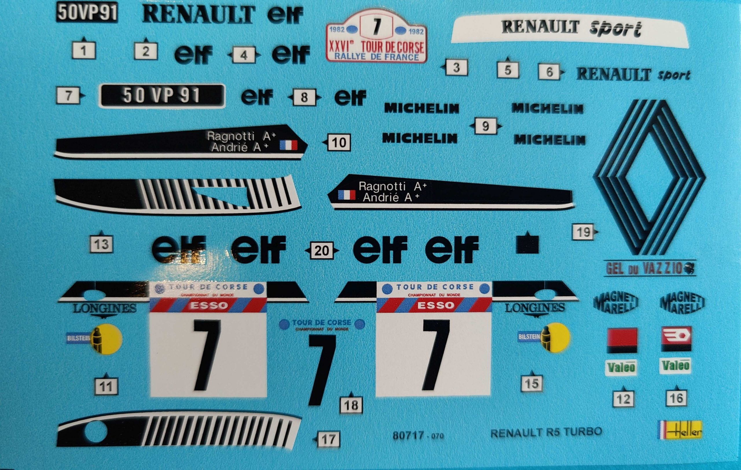 HellerR5Turbo014-scaled Renault R5 Turbo in 1:24 von Heller #80717