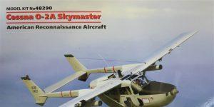 Cessna O-2A Skymaster in 1:48 von ICM #48290