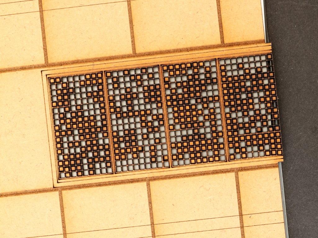IMG_1147 Bundeswehrhalle 1:35 Lasercut Modellbaushop (#LCS-057-1-35)