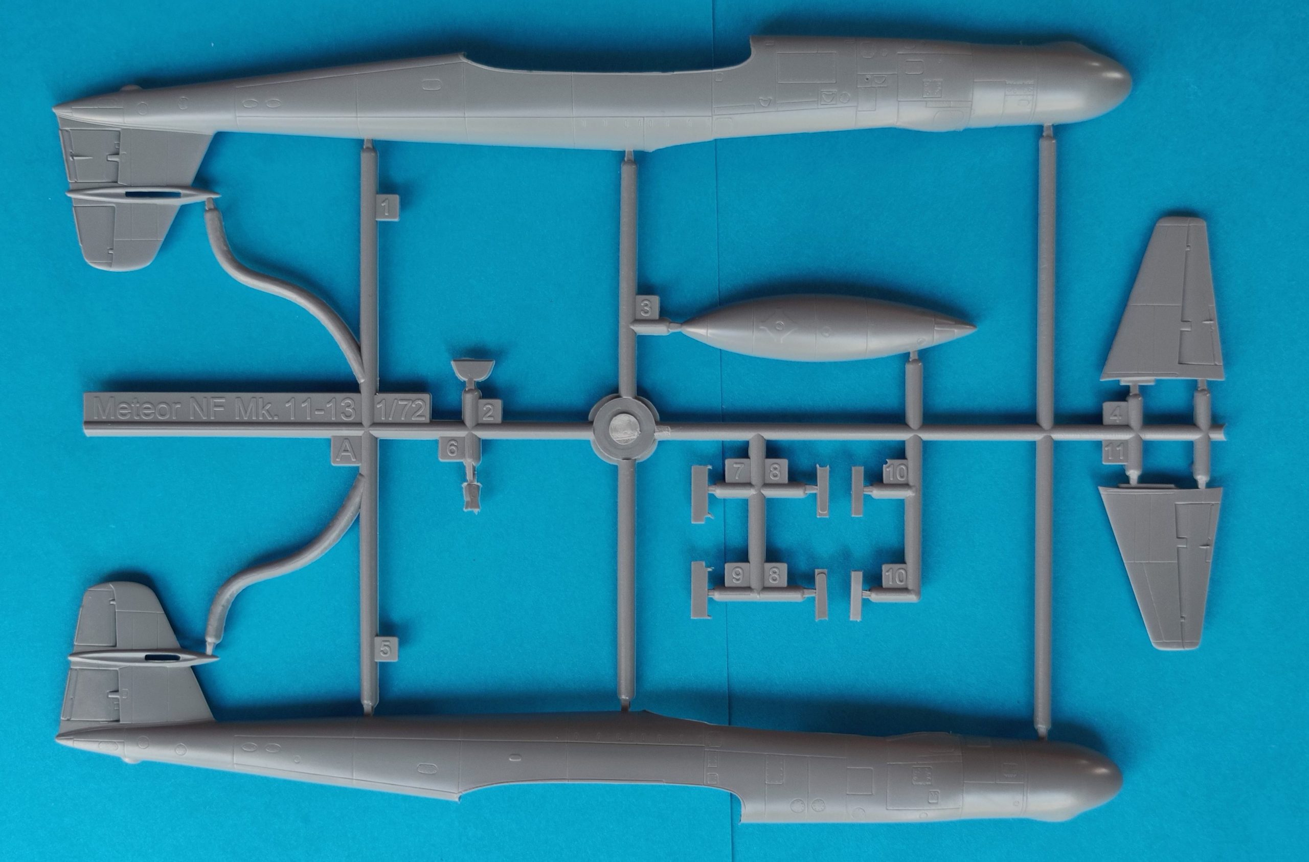 """MB_Meteor_Nf_MK11_Nato2-scaled Gloster A.W. Meteor NF Mk.1 """"Nato Users"""" in 1:72 von Special Hobby # 72358"""