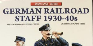 German Railroad Staff 1930-1940 in 1:35 von MiniArt #38012