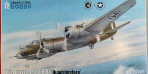 """Special Hobby Piaggio P.108B """"Quadrimotore"""" in 1:72"""