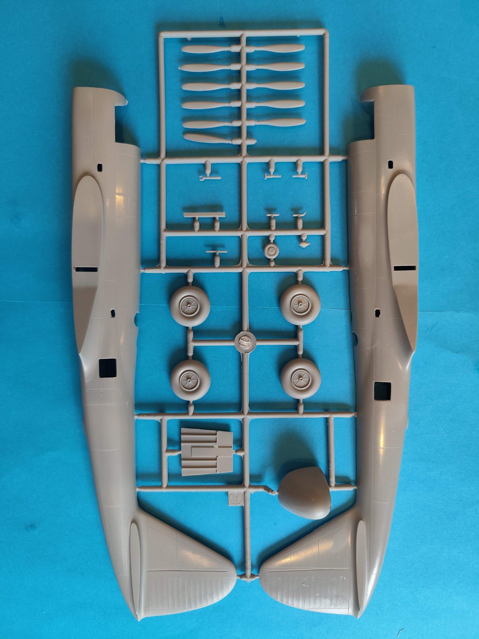 """PiaggioP108B003-scaled Special Hobby Piaggio P.108B """"Quadrimotore"""" in 1:72"""