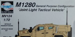 "M1280 ""Joint Light Tactical Vehicle"" in 1:72 von Planet Models  #MV124"