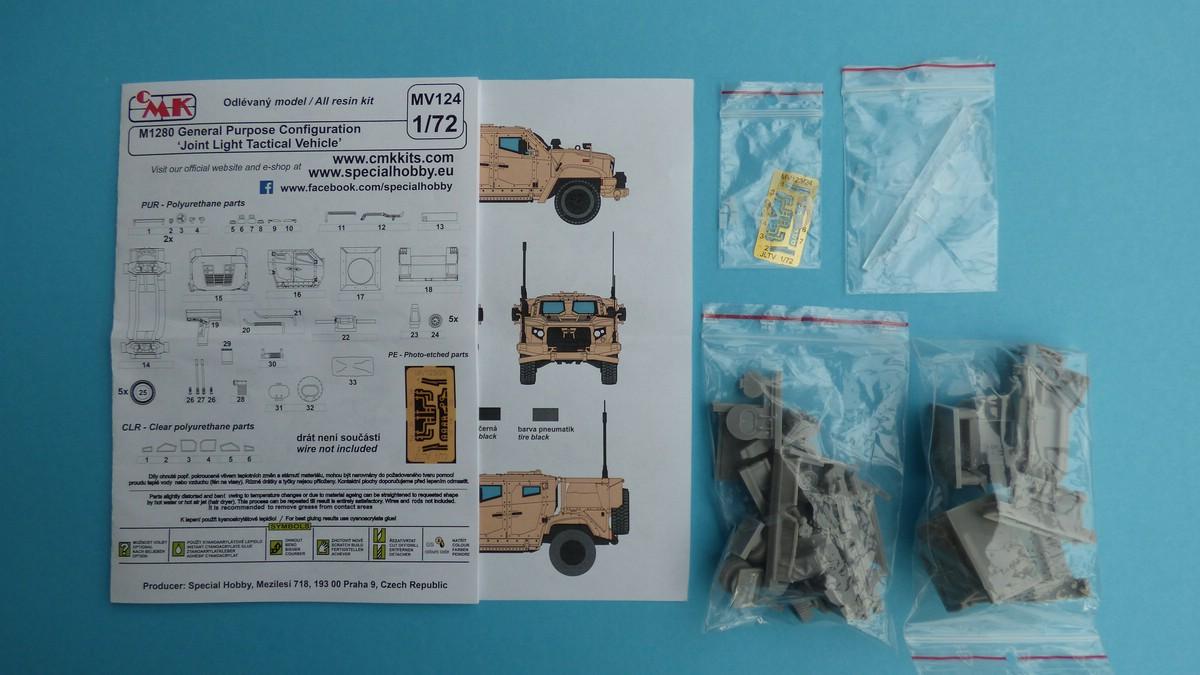 "Planet-Models-MV-124-JLTV-2 M1280 ""Joint Light Tactical Vehicle"" in 1:72 von Planet Models  #MV124"