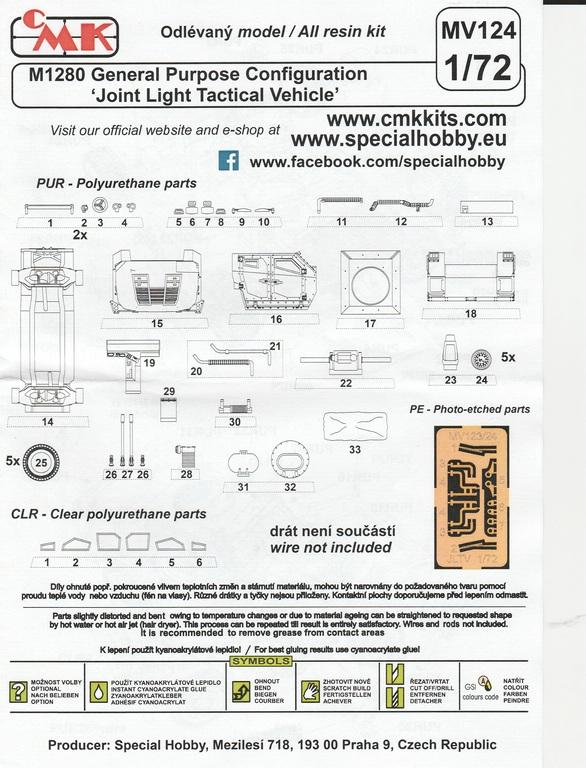 "Planet-Models-MV-124-JLTV-34 M1280 ""Joint Light Tactical Vehicle"" in 1:72 von Planet Models  #MV124"