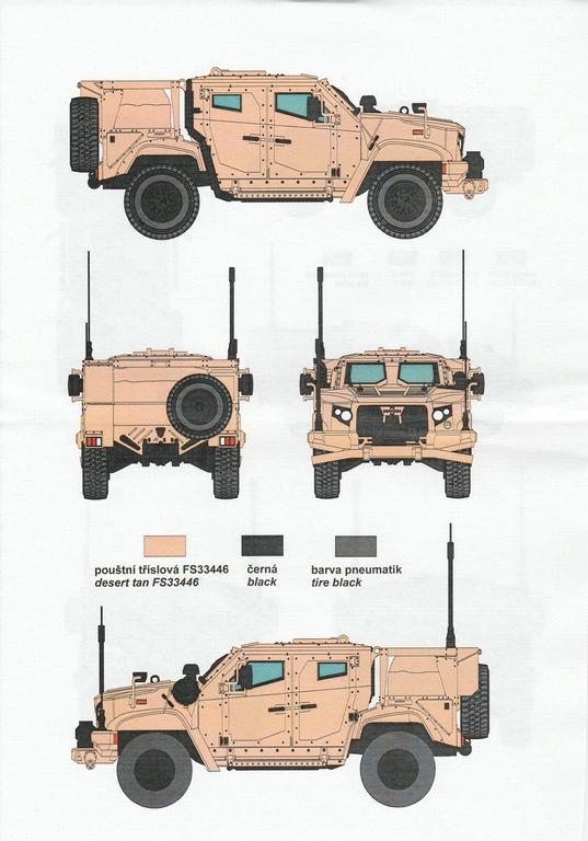 "Planet-Models-MV-124-JLTV-38 M1280 ""Joint Light Tactical Vehicle"" in 1:72 von Planet Models  #MV124"