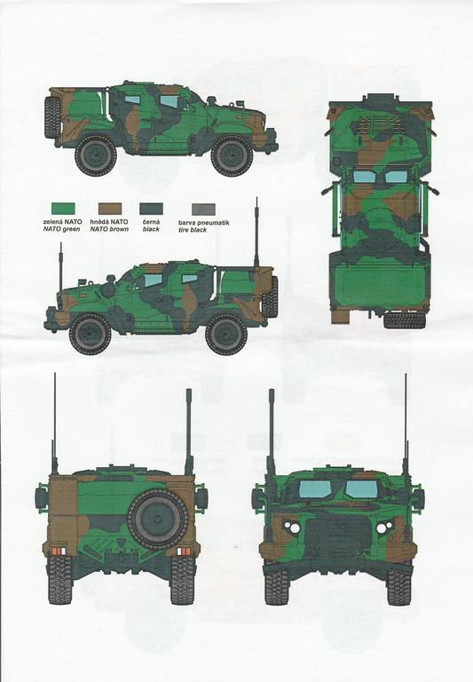 "Planet-Models-MV-124-JLTV-39 M1280 ""Joint Light Tactical Vehicle"" in 1:72 von Planet Models  #MV124"