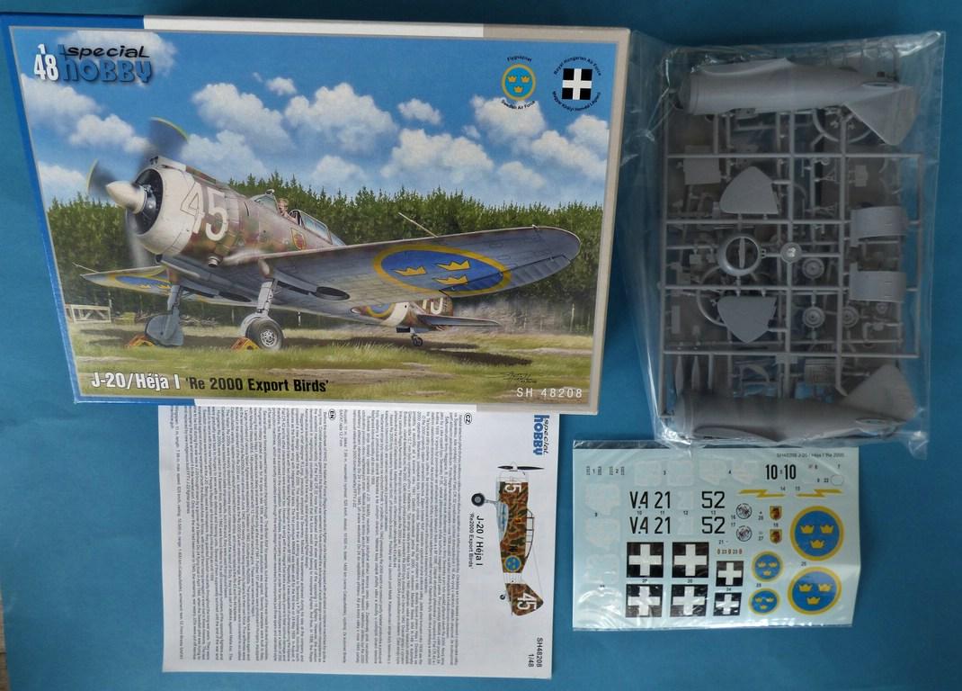 """Special-Hobby-SH-48208-J-20-Heja-I-Export-2 J-20 Héja I """"Re2000 Export Birds"""" von Special Hobby in 1:48 #SH48208"""