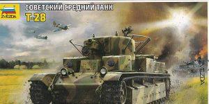T-28 in 1:72 von Zvezda #5064