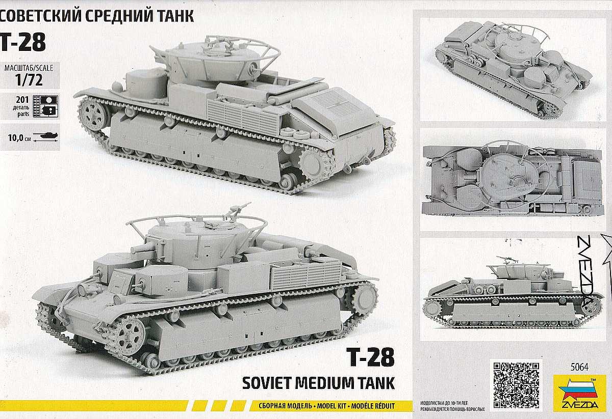 Zvezda-5064-T-28-1zu72-2 T-28 in 1:72 von Zvezda #5064