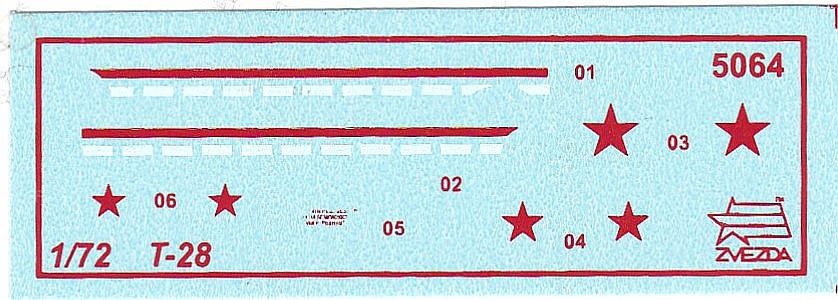 Zvezda-5064-T-28-1zu72-9 T-28 in 1:72 von Zvezda #5064
