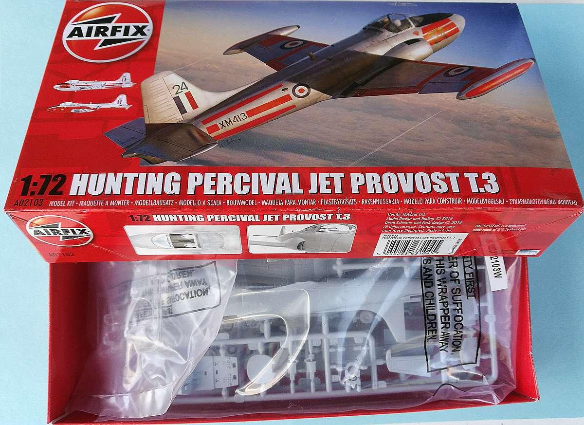 Airfix-A02103-Jet-Provost-T-Mk.-3-9 Jet Provost T Mk. 3 in 1:72 von Airfix #A02103