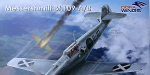 Bf 109 A/B Legion Condor in 1:48 von Dora Wings # DW 48009