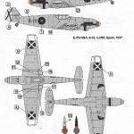 DoraWings-DW-48009-Bf-109A-und-B-Legion-Condor-6-150x150 Bf 109 A/B Legion Condor in 1:48 von Dora Wings # DW 48009