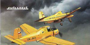 """Let Z-37A Cmelak """"Servus Chlapci"""" in 1:72 von Eduard #2131"""