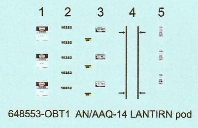 Eduard-648548-und-648553-LANTIRN-System-ANAAQ-13-und-ANAAQ-14-Pods-26 LANTIRN System AN/AAQ-13 und AN/AAQ-14 Pods 1:48 von Eduard #648548 und #648553