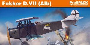 Fokker D.VII (Alb.) in 1:72 von Eduard ProfiPack # 70134