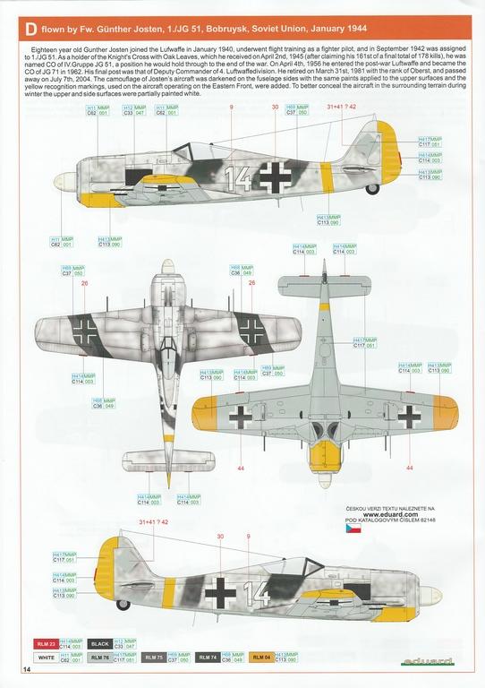 Eduard-82148-FW-190-A-6-37 Focke Wulf FW 190 A-6 ProfiPack in 1:48 von Eduard #82148