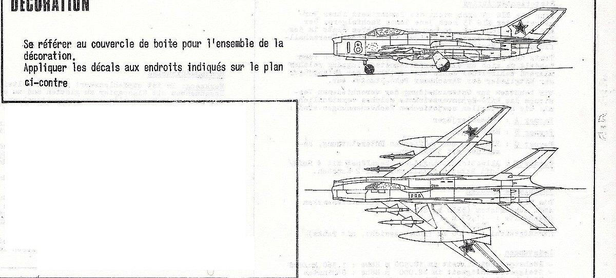 Heller-L-251-MiG-19-Bauanleitung-1 Kit-Archäologie: MiG-19 in 1:72 von Heller # L 251
