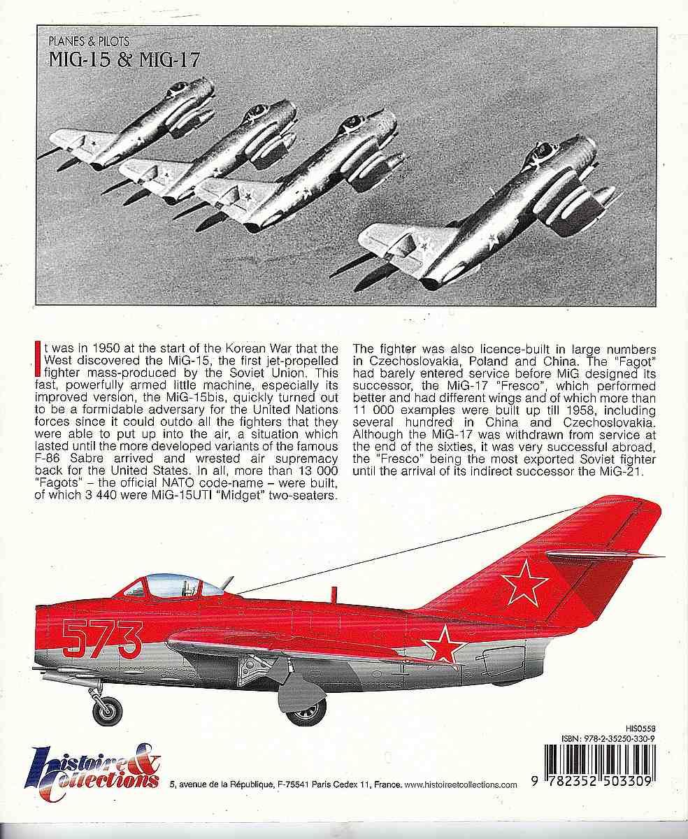 HistoireCollections-Nr.-20-MiG-15-und-MiG-17-2 Planes & Pilots: MiG-15 / MiG-17