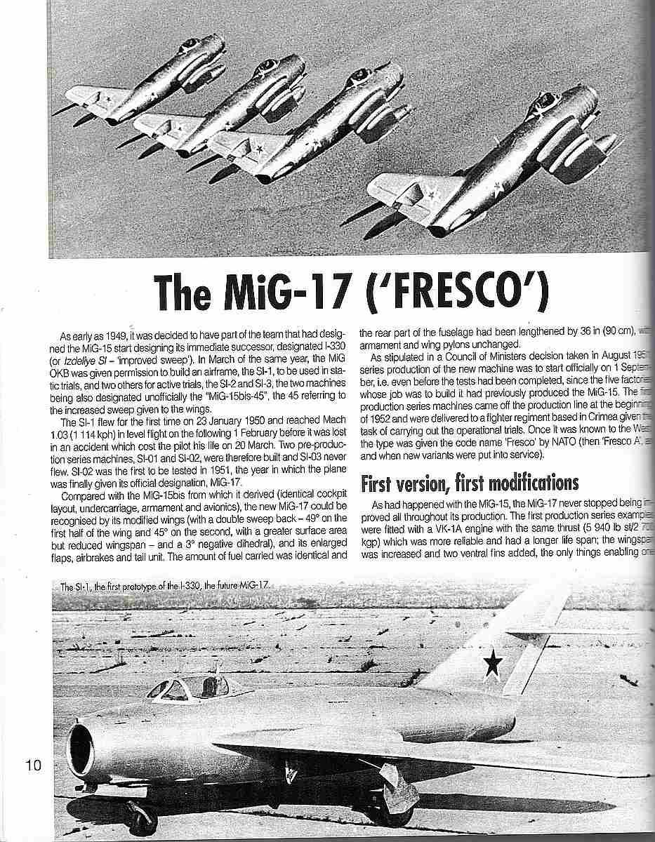HistoireCollections-Nr.-20-MiG-15-und-MiG-17-4 Planes & Pilots: MiG-15 / MiG-17