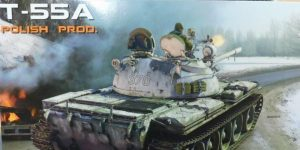 T-55A Polish Production in 1:35 von MiniArt # 37090