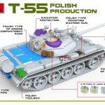 Miniart-37090-T-55A-Polish-Prod.-Unterschiede-2-150x150 T-55A Polish Production in 1:35 von MiniArt # 37090