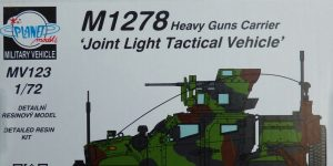 "M1278 Heavy Guns Carrier ""Joint Light Tactical Vehicle"" in 1:72 von Planet Models #MV 123"