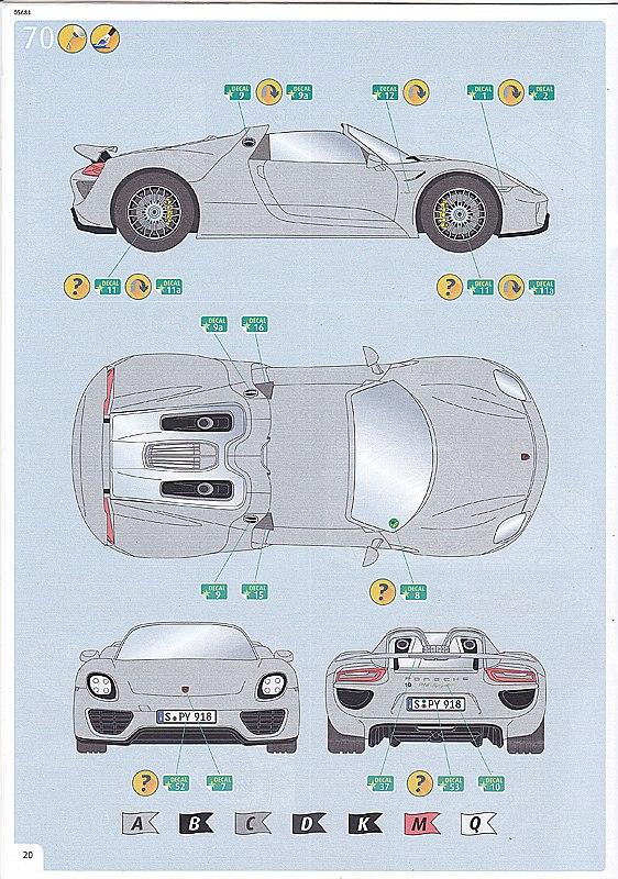 Revell-Porsche-918-Spyder-20 Porsche Combo in 1:24 von Revell #05681