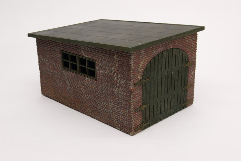 Review_Lasercut_WWII-Garage_21 Build-Review: Garage WWII - Lasercut Modellbaushop - 1/35
