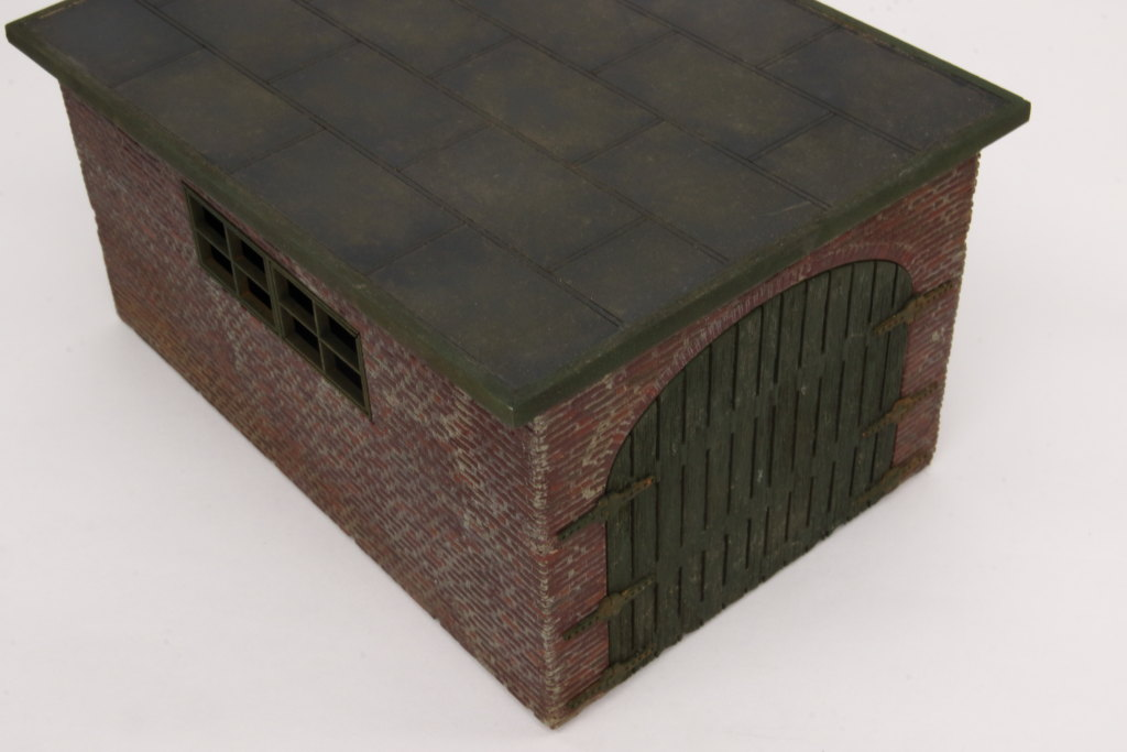 Review_Lasercut_WWII-Garage_23 Build-Review: Garage WWII - Lasercut Modellbaushop - 1/35
