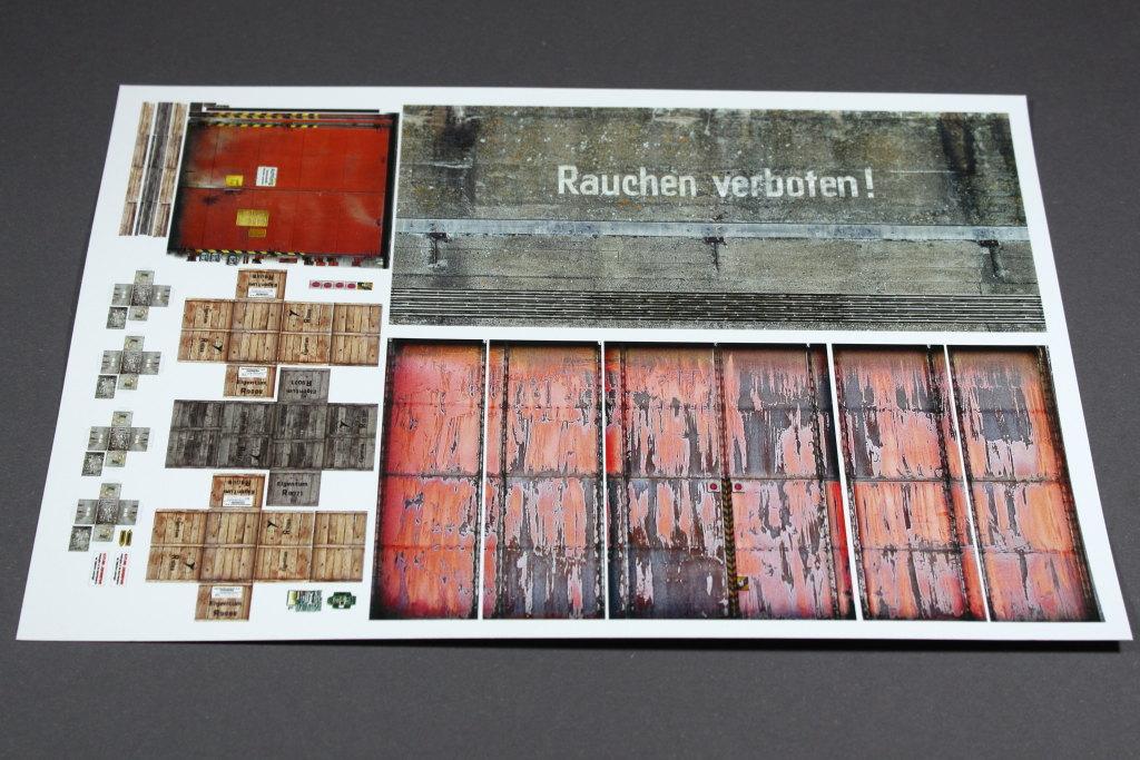 "Review_ReimaHG_12 ReimaHG – Werk ""Lachs"", Lasercut Editon (Uschi van der Rosten & Malaan Lasercut), Maßstab 1:72, #5001"