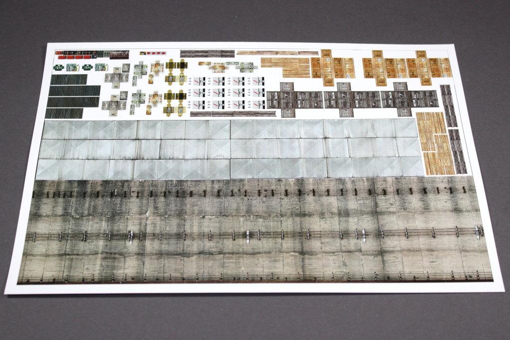 "Review_ReimaHG_13 ReimaHG – Werk ""Lachs"", Lasercut Editon (Uschi van der Rosten & Malaan Lasercut), Maßstab 1:72, #5001"