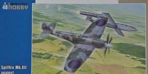 Special Hobby Spitfire Mk.XII against V-1 Flying Bomb # 48192
