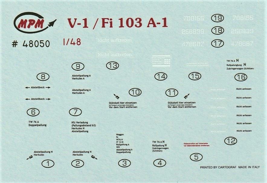 Special-Hobby-48192-Spitfire-Mk.-XII-V1-12 Special Hobby Spitfire Mk.XII against V-1 Flying Bomb # 48192