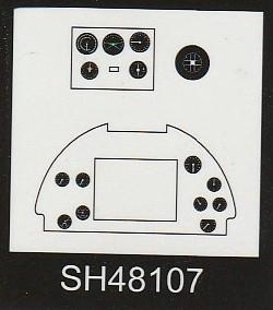 Special-Hobby-48192-Spitfire-Mk.-XII-V1-54 Special Hobby Spitfire Mk.XII against V-1 Flying Bomb # 48192