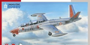 Fouga Magister in French, Belgian and Irish Service in 1:72 von Special Hobby # 72371