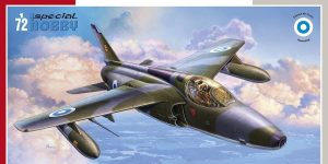 Folland Gnat FR.1 Finnish Recce Fighter in 1:72 von Special Hobby #SH 72419