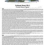 Special-Hobby-SH-72419-Folland-Gnat-FR.-I-Finnish-Recce-Bauanleitung-1-150x150 Folland Gnat FR.1 Finnish Recce Fighter in 1:72 von Special Hobby #SH 72419