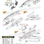 Special-Hobby-SH-72419-Folland-Gnat-FR.-I-Finnish-Recce-Bauanleitung-3-150x150 Folland Gnat FR.1 Finnish Recce Fighter in 1:72 von Special Hobby #SH 72419