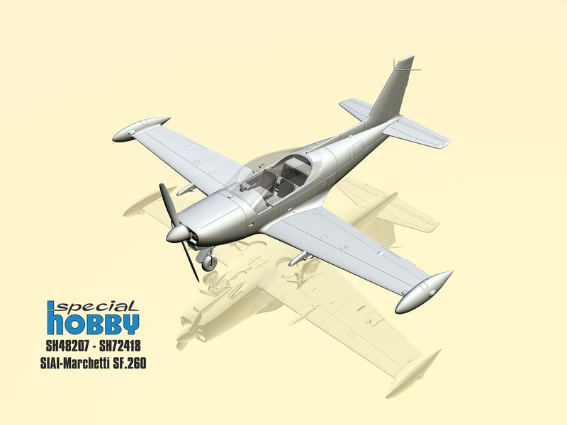 Special-Hobby-SIAI-Marchetti-SF-260-2 SIAI Marchetti SF 260 in 1:72 und 1:48 von Special Hobby