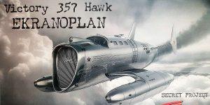 Pobeda 357 Hawk in 1:72 von AMP # 72010