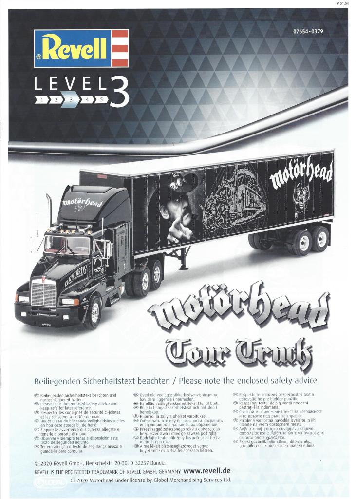 Anleitung01-1 Motörhead Tour Truck 1:32 Revell #07654