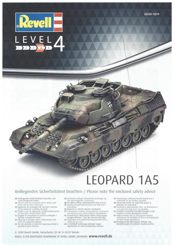 Anleitung01 Leopard 1A5 1:35 Revell (#03320)