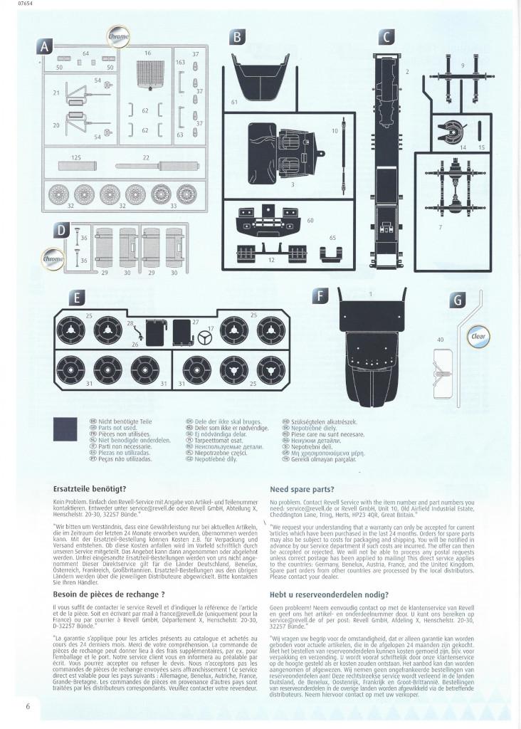 Anleitung06-1 Motörhead Tour Truck 1:32 Revell #07654